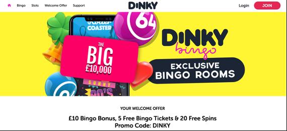 Dinky Bingo screenshot